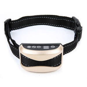 Pet Dogs Anti-Bark Collar Rechargeable Waterproof Bark Collars for Small Medium Large Dog No Bark Collar