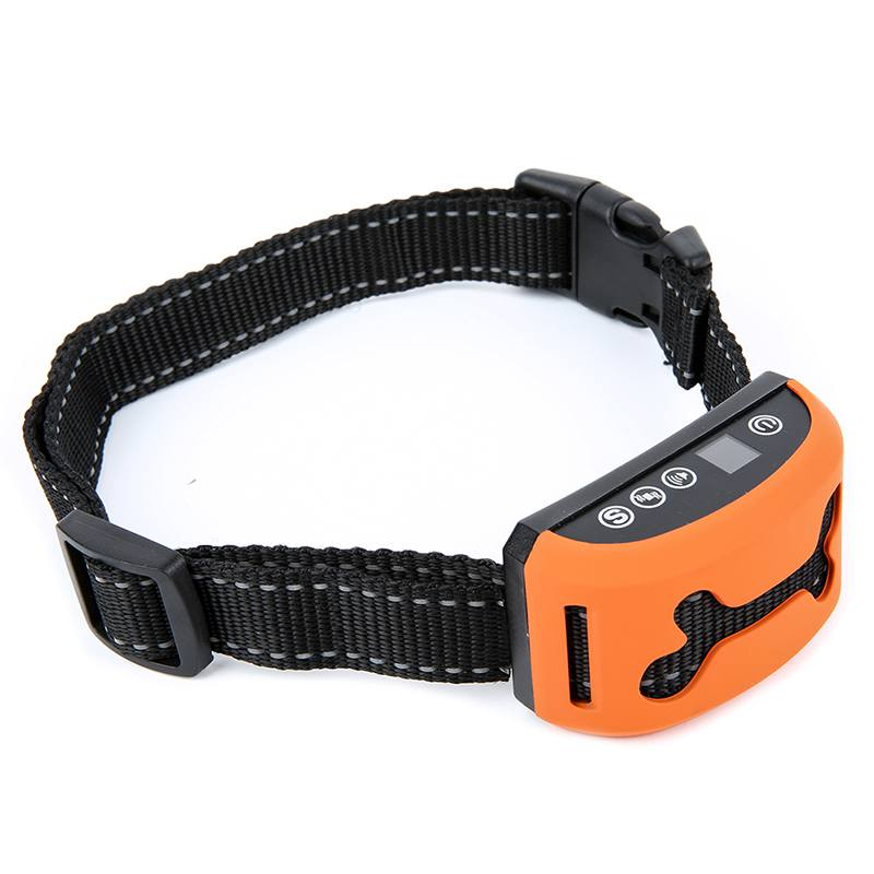 Pet Rechargeable Rainproof Anti No Electric Shock No Bark Control Collar Harness Bark Deterrents Dogs Pets Supplies Accessories