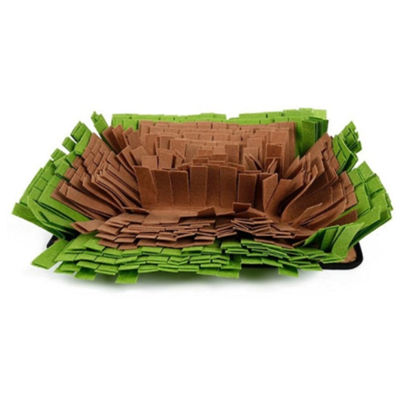 Pet Snuffle Mat Nosework Blanket Dog Dog Feeding Yummy Smell Training Mats Toy Nose Work For Stress Release Encourages Blanket