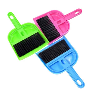 Pet Sweeper Pet Small Broom Set Cat and Dog Gadgets Small and Medium Dog Cleaning Tools Cat Scoop Toilet