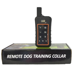 Pet product 3 modes beeper shock and vibration dog training collar remote waterproof dog collar electronic for dog training