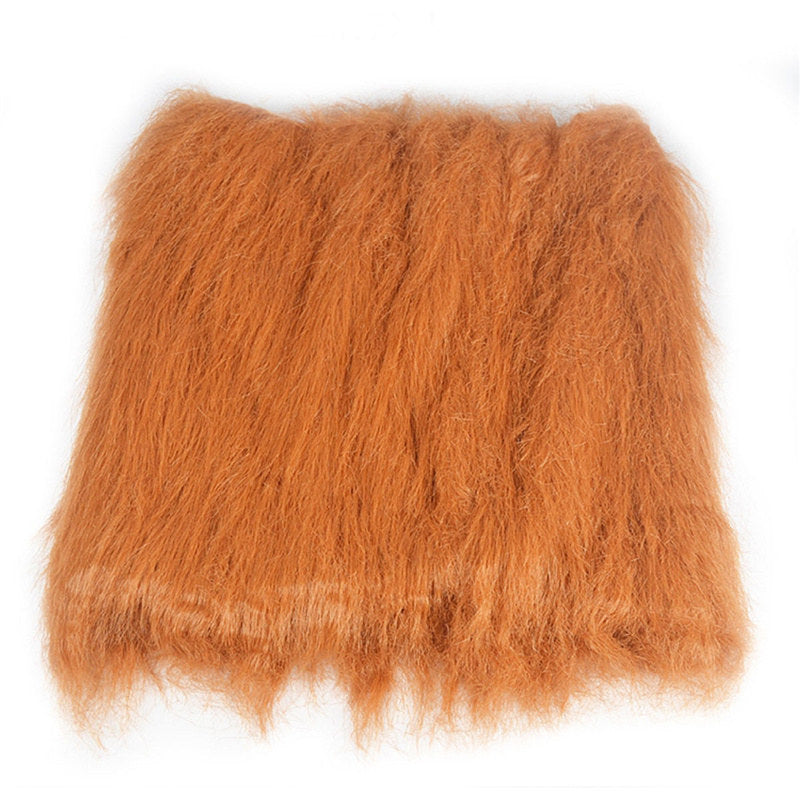 Plush Large Dog Products Furry Pet Costume Lion Mane Wig For Cat Halloween False Hair Dressed Lions Pets Accessories For Dogs