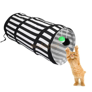 Pop Up Cat Dog Pet Rabbit Puppy Play Tunnel Strong Exercise Activity Toy