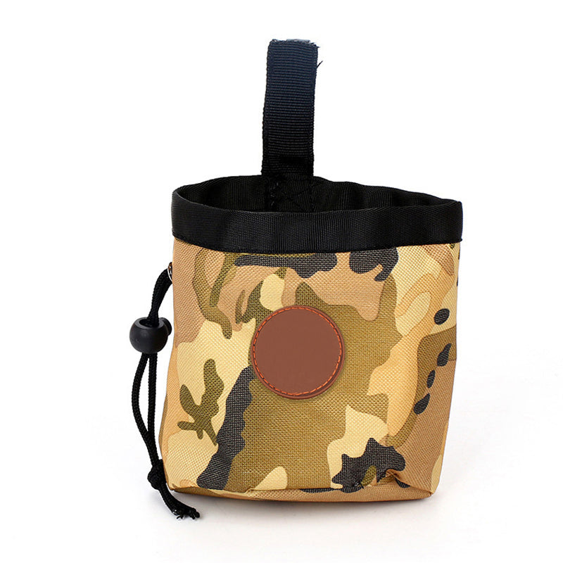 Portable Outdoor Pet Dog Treat Pouch Dog Training Treat Bags Pet Feed Storage Pouch Puppy Snack Reward Wai Bag