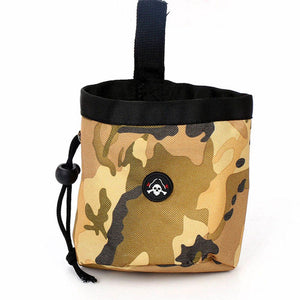 Portable Pet Dog Treat Pouch Dog Training Treat Bags Puppy Snack Wai Bag Detachable Pet Feed Pocket Pouch
