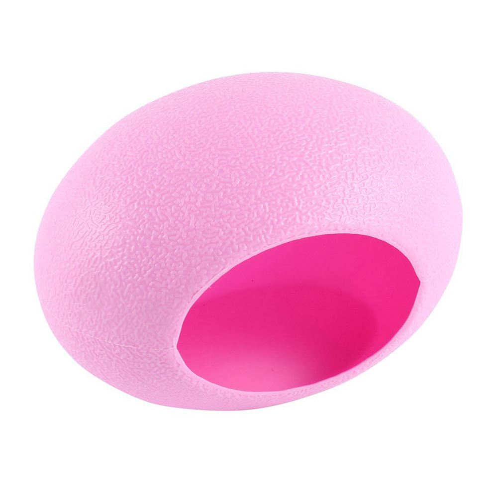 Practical Boutique Plastic Mini Pet Bedroom Egg Ne Hamster Cottage Pink