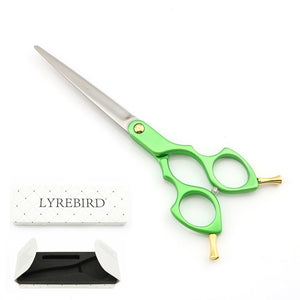 Professional Pet Dog Grooming Scissors 6.5 Inch Dog Hair Scissors 6 Color Handle Super Japan 440C  TOP CLASS NEW