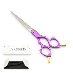 Professional Pet Dog Grooming Scissors 6.5 Inch Dog Hair Shears 6 Color Handle Japan 440C  TOP CLASS 5PCS/ LOT NEW