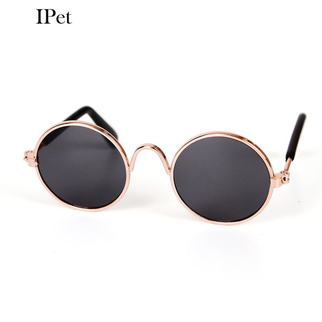 Stainless Stylish Cool Dog Pet Toy Steel Cat Cute Kitty Sunglasses
