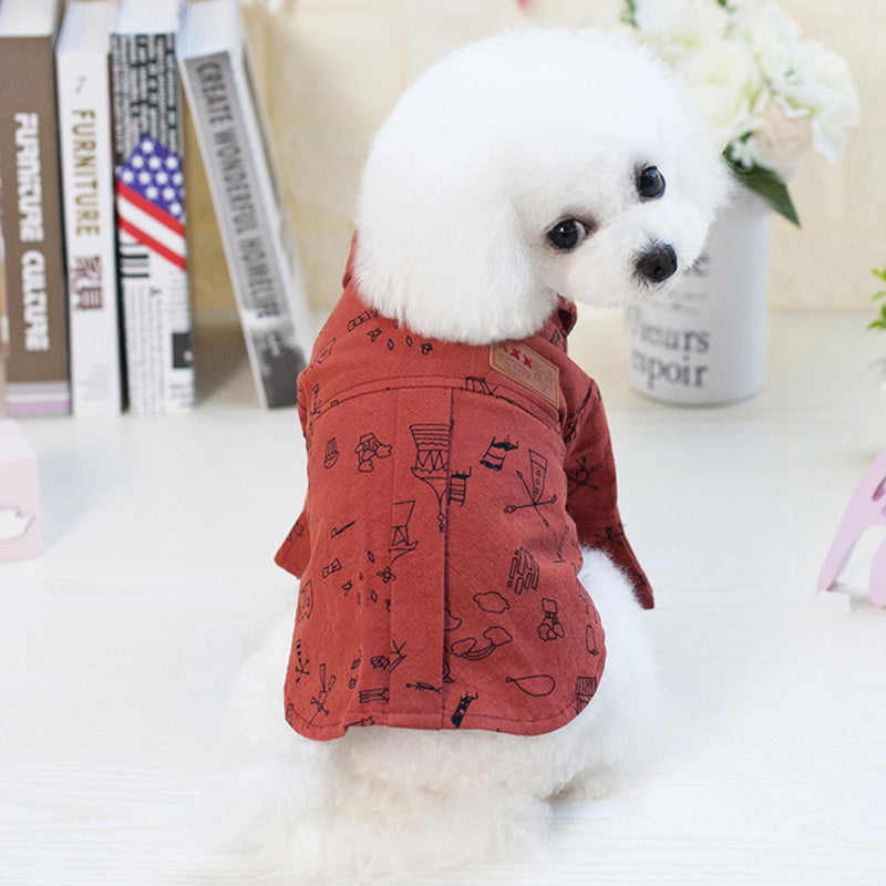 Summer Clothes for Dog Coat Cartoon Dog Clothes For Small Dogs Puppy Winter Jackets For Dog Large Pet Chihuahua Clothing FN P1