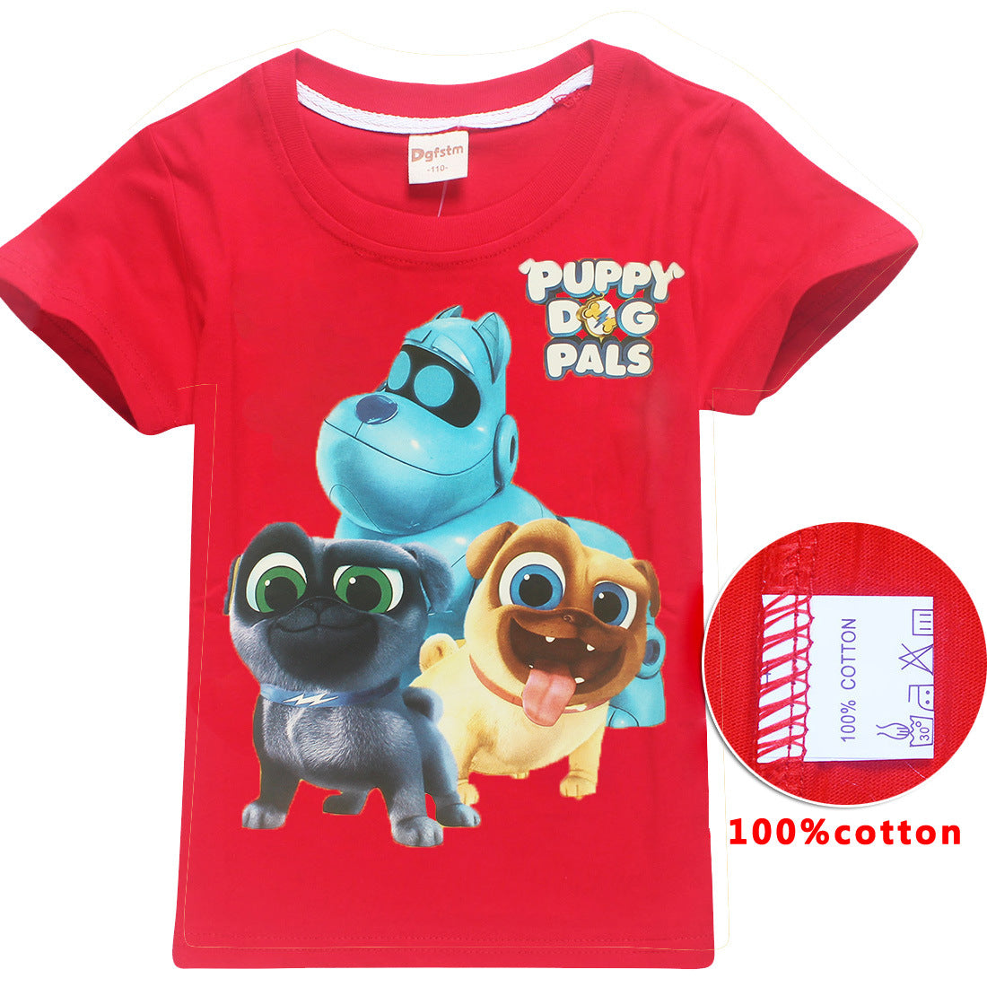 004830115 The Secret Life of Pets Puppy dog pals tshi children's T-shirts boy robe  fille