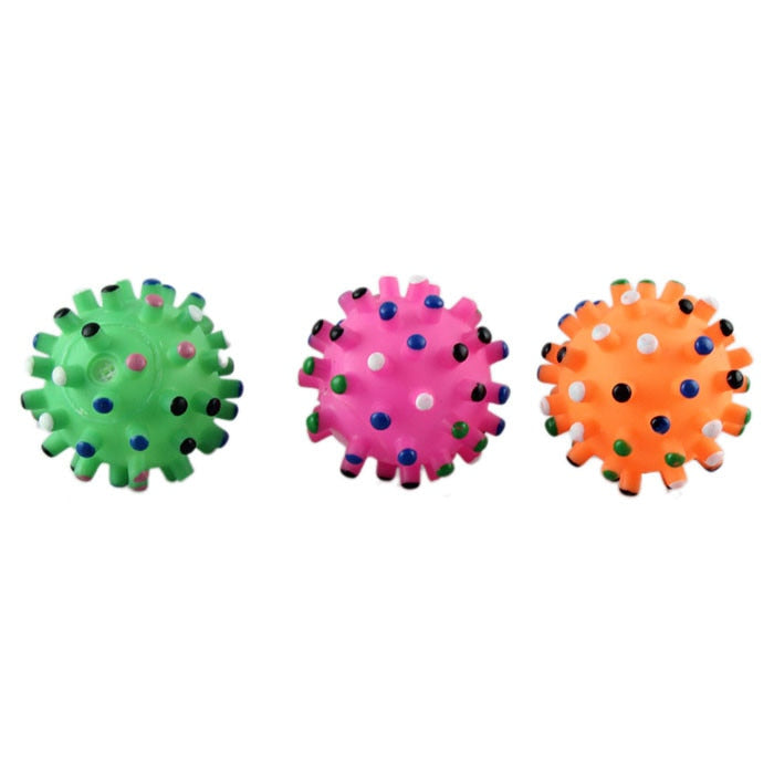 Three Types Silicone New Pet Products Dog Supplies Pet Toy Ball Toy Dog Toy Ball Squeaky Toy Quack Happy Gifts High Quality