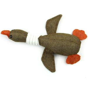 Hot Fashion Drop Shipping  Pet Dog Wild Goose Sound Toys Solid Resistance To Bite Playable Funny Pet Toy 18Mar19
