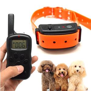 Electric Dog Training Collar Electric shock for dogs Rechargeable Waterproof For 1-3 Dogs Remote Dog Training Collar