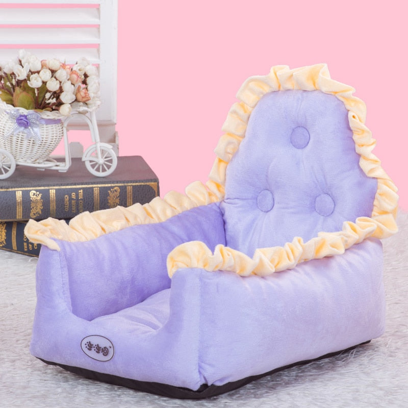 Warm Pet Dog Kennel Fashion Cushion Puppy Cat Soft Warm Autumn Arge Winter Pet Dog  Bed Cushion Mat Blanket Washable ATB-262