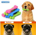 TPR Pet toys Teddy Puppy Dogs cat  toy No poison health Chew Rubber bones toys Molar Clean the teeth 1pcs C05