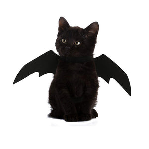 Pet Bat Wings Cat Costume Halloween Cat Clothing Soft Felt Cloth Cat Apparel Funny Cat Clothes