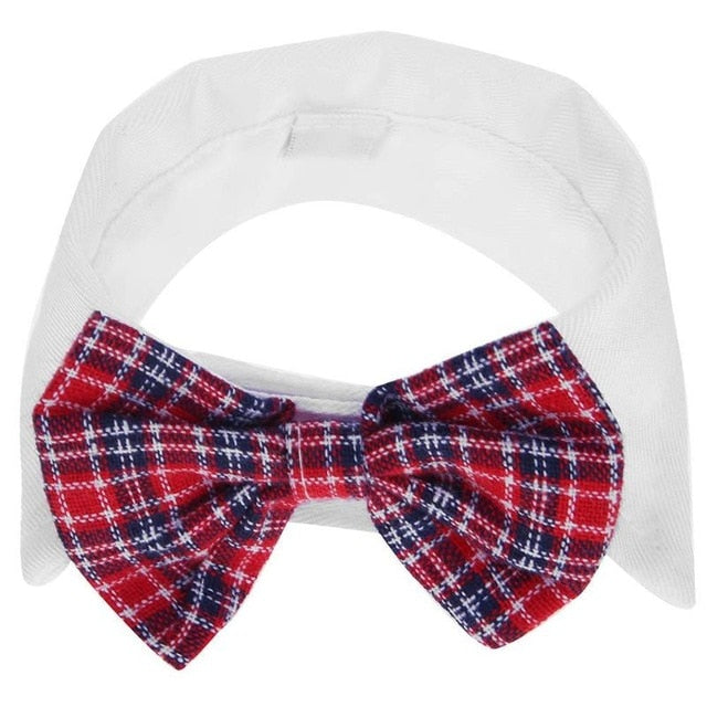 Pet Dog Bow Tie Adjustable Dogs Necktie Collar Wedding Suit for Small Dog Party Holiday Decoration Clothes Accessories