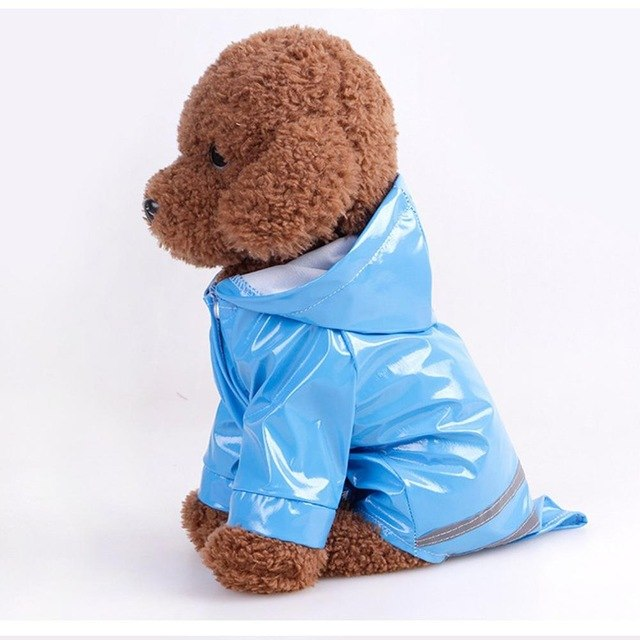 Windproof Dogs Raincoat Pets Waterproof Clothes Jacket for Small Large Dog Raincoat Clothing Summer Rain Coats