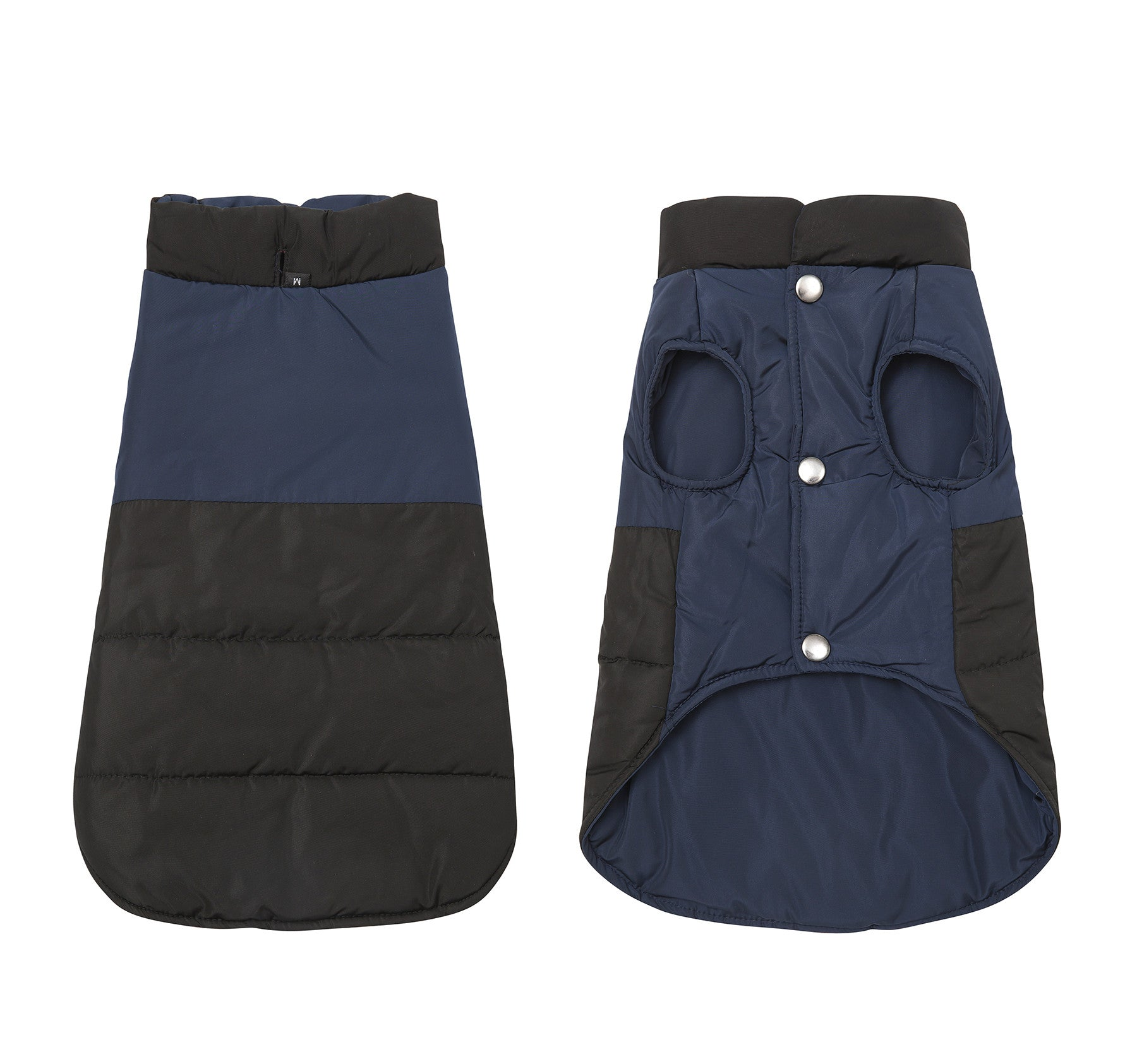 Outdoor Sports Waterproof Double Sided Wear Dog Coat Pet Clothes Cotton Coat for Autumn Winter