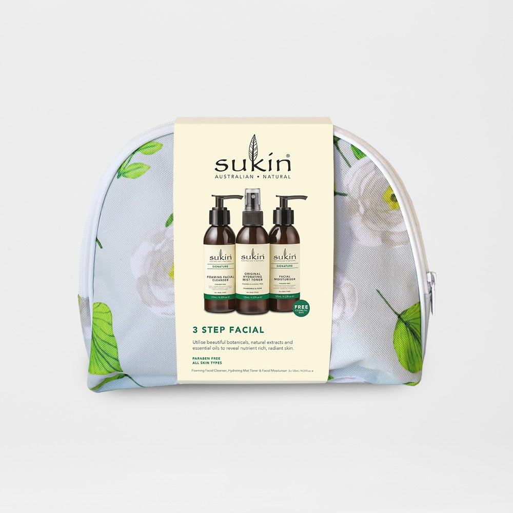 Sukin Natural 3 Step Facial | Gift Pack