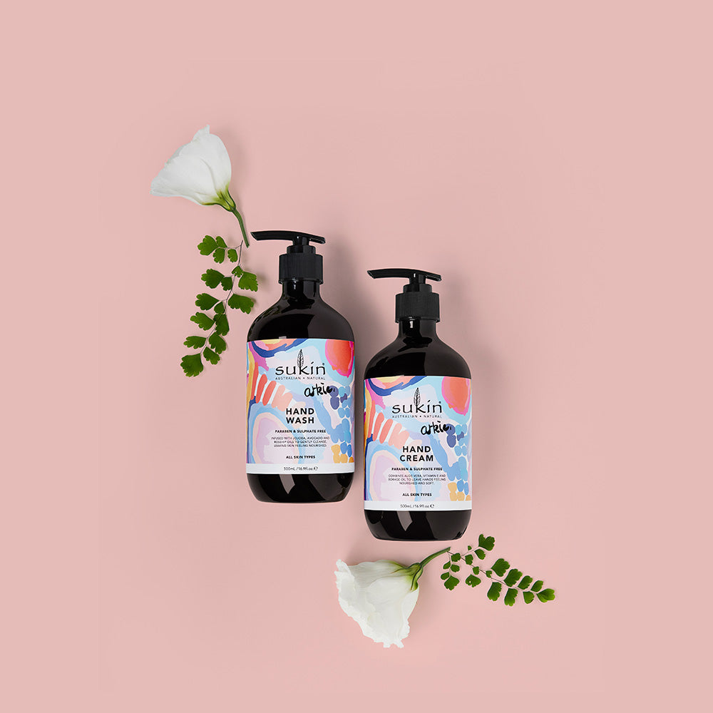 Sukin Natural Arkie Hand Wash & Hand Cream | Gift Pack 500ml
