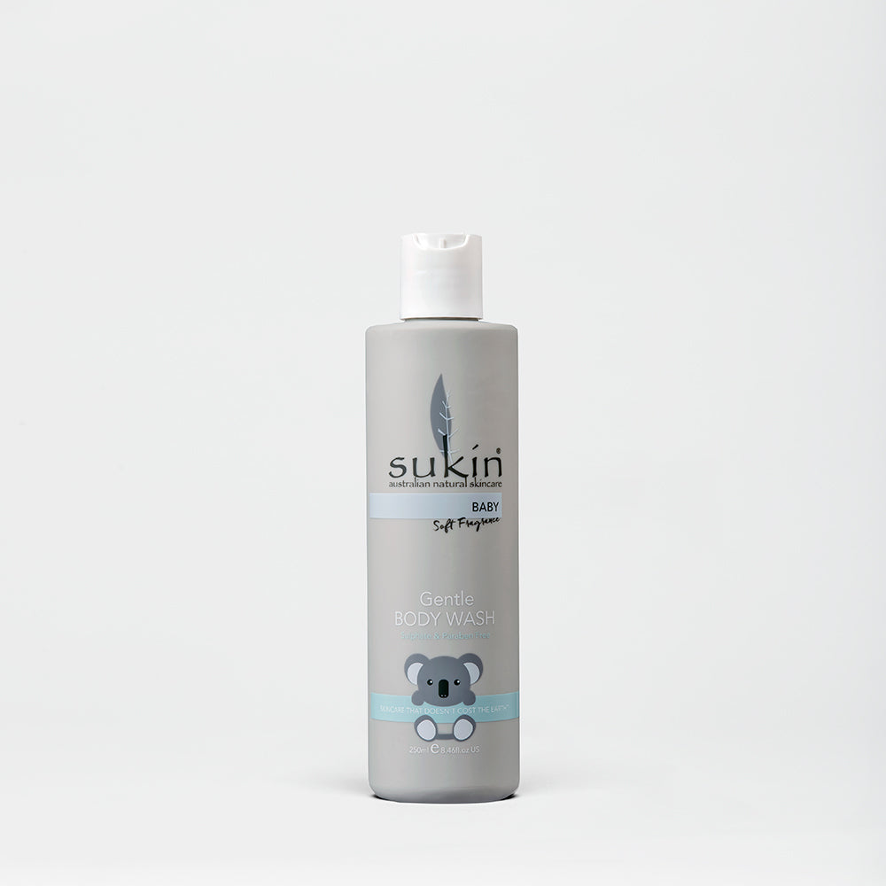 Sukin Natural Gentle Soft Fragrance Body Wash | Baby 250ml