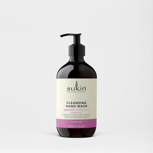 Cleasing Hand Wash | Bergamot & Patchouli 500ml