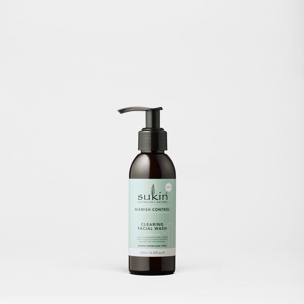 Sukin Natural Clearing Facial Wash | Blemish Control 125ml