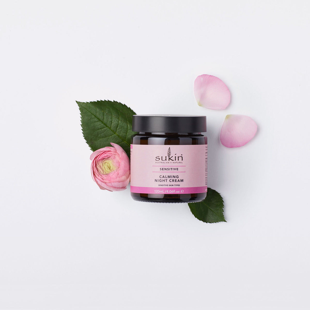 Sukin Natural Calming Night Cream | Sensitive 120ml