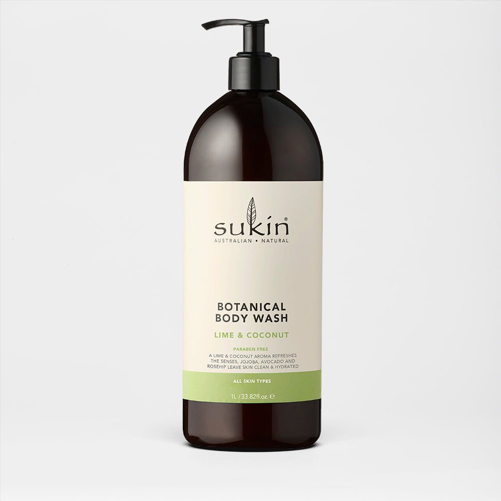 Botanical Body Wash | Lime and Coconut 1L