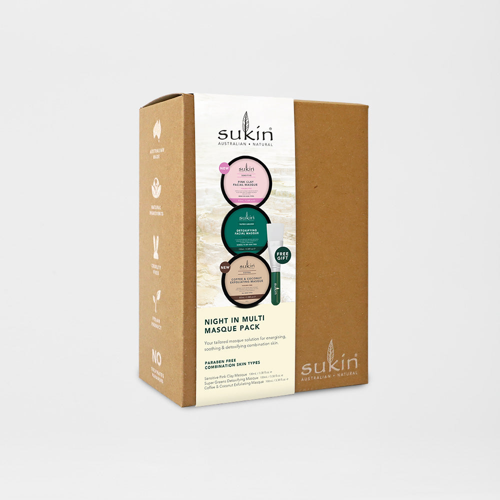 Sukin Natural Multi-Masque | Gift Pack