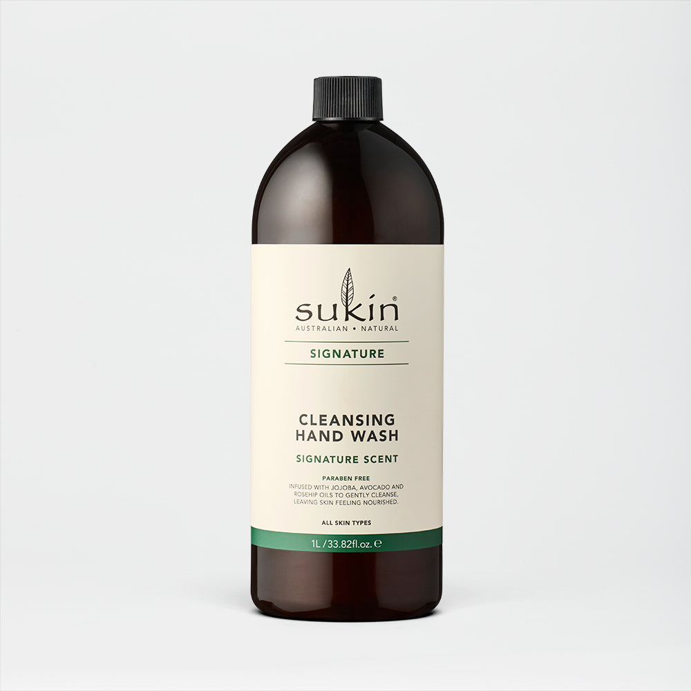 Sukin Natural Cleansing Hand Wash Refill | Signature 1L