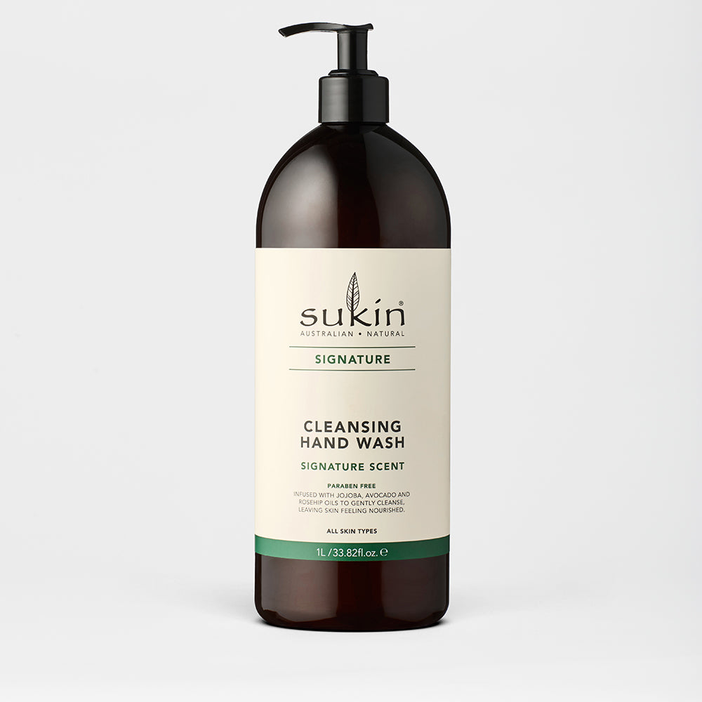 Sukin Natural Cleansing Hand Wash Pump | Signature 1L