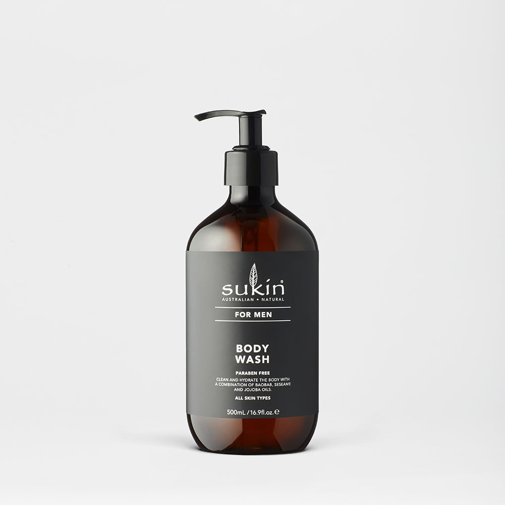 Sukin Natural Body Wash | Men's 500ml