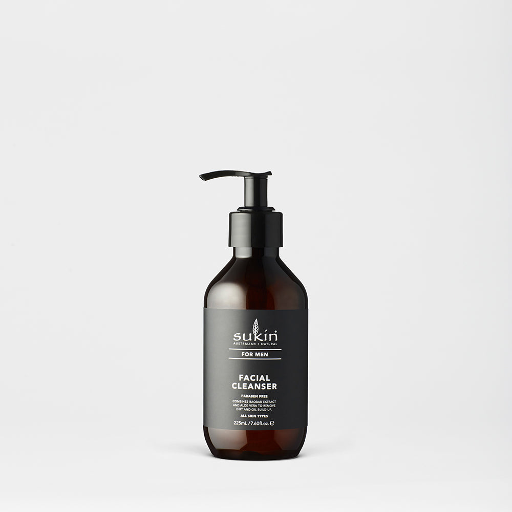 Sukin Natural Facial Cleanser | Men's 225ml