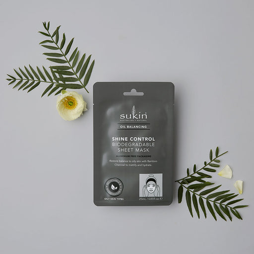 Shine Control Sheet Mask | Oil Balancing | 25ml