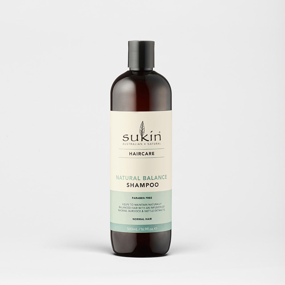 Sukin Natural Natural Balance Shampoo | Hair Care 500ml
