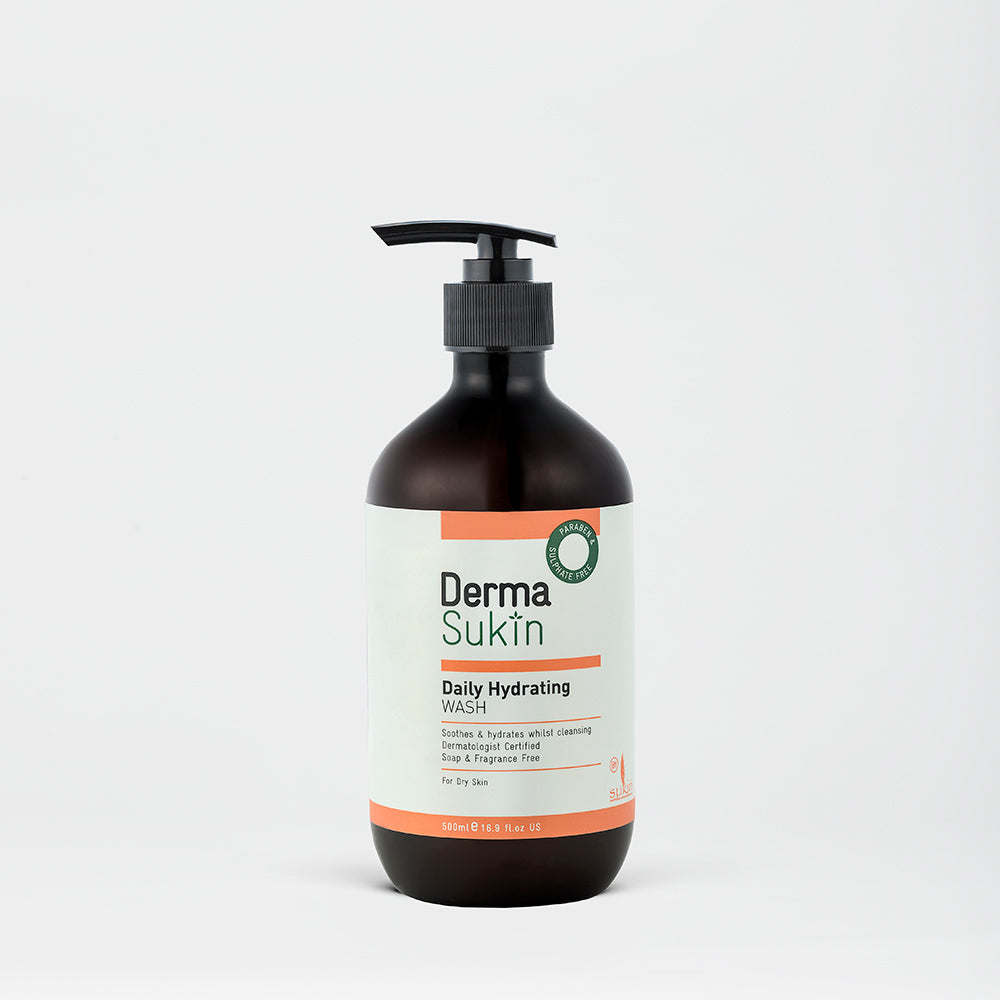 Sukin Natural Daily Hydrating Face & Body Wash | Derma Sukin 500ml
