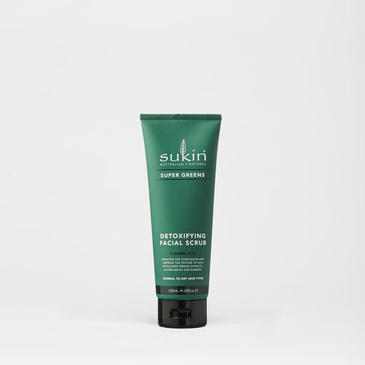 Detoxifying Facial Scrub | Super Greens | 125ml