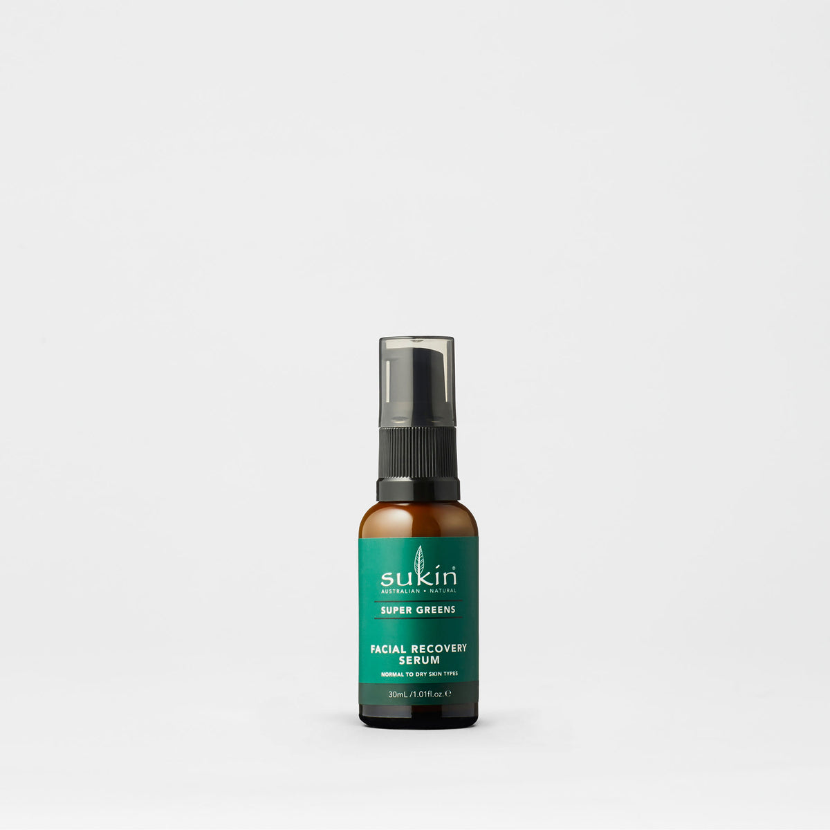 Sukin Natural Facial Recovery Serum | Super Greens 30ml