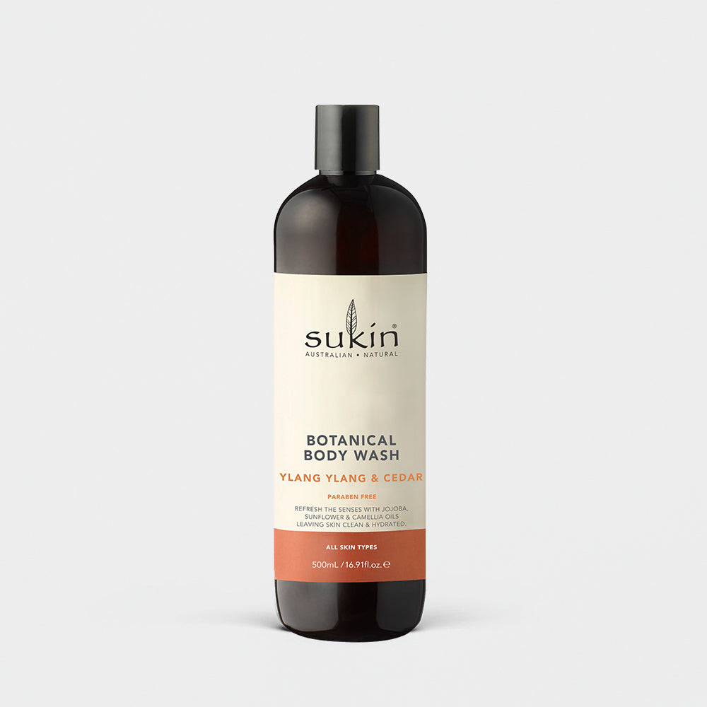 BOTANICAL BODY WASH | YLANG YLANG & CEDAR 500ML