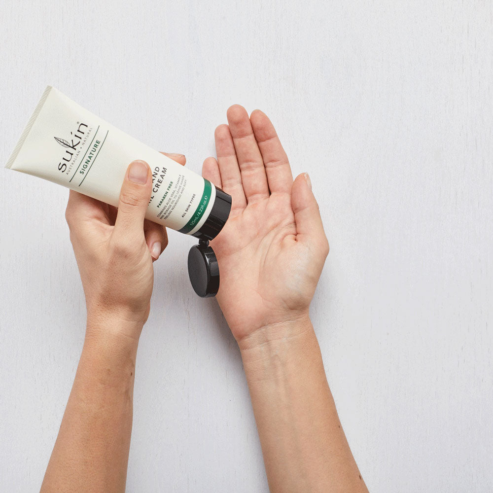 Sukin Natural Hand & Nail Cream Tube | Signature 125ml