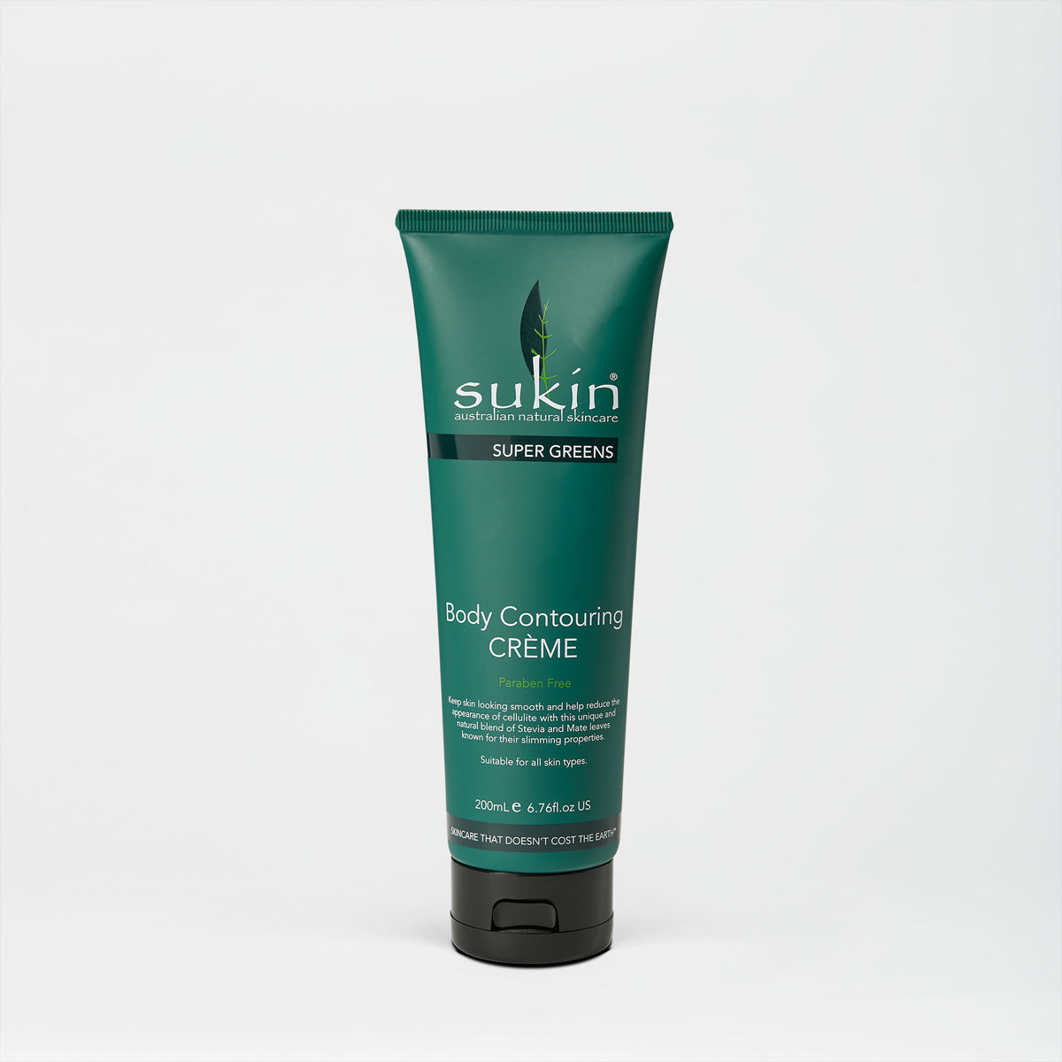 Sukin Natural Body Contouring Crème | Super Greens 200ml