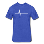 Heartbeat Fitted Cotton/Poly T-Shirt