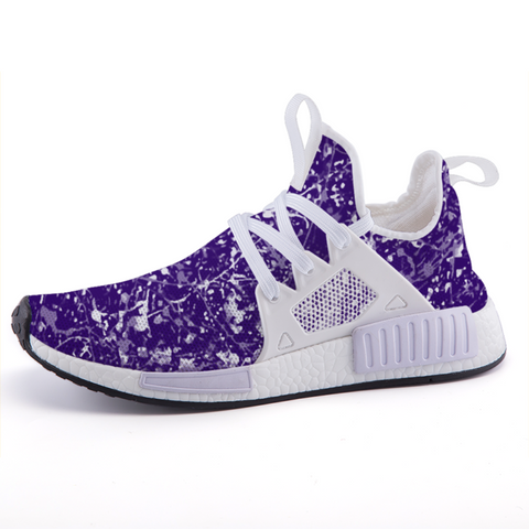 limited edition, custom, purple, running shoes