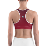 Battle Red Free Flex Sports Bra