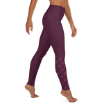 Bubbles Training Leggings - Maroon