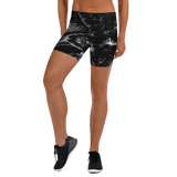 Coral Fitness Shorts - Black