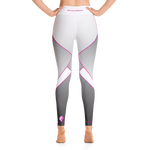 Fade-2-Flex Gray & White Leggings